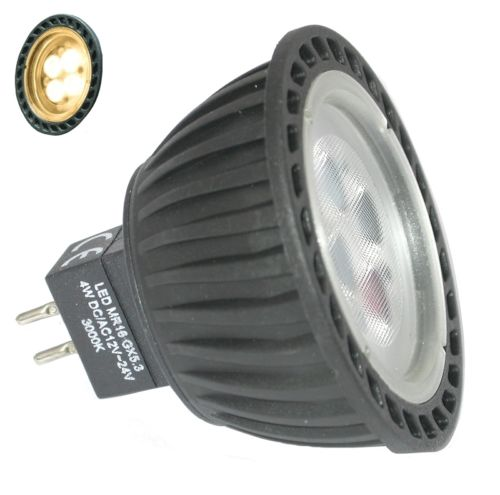 Aqualux AGL-250 MR16 WW 12-24V AC/DC 35Deg Globe