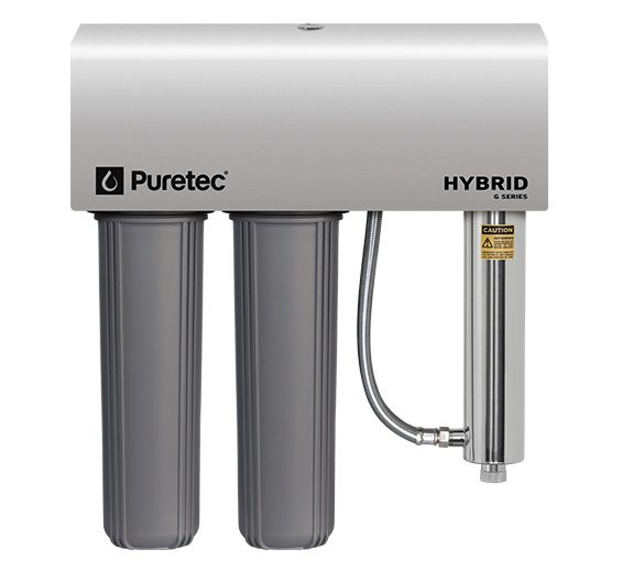 Puretec Hybrid G7 Whole House UV Treatment System Max Flow 130l/min