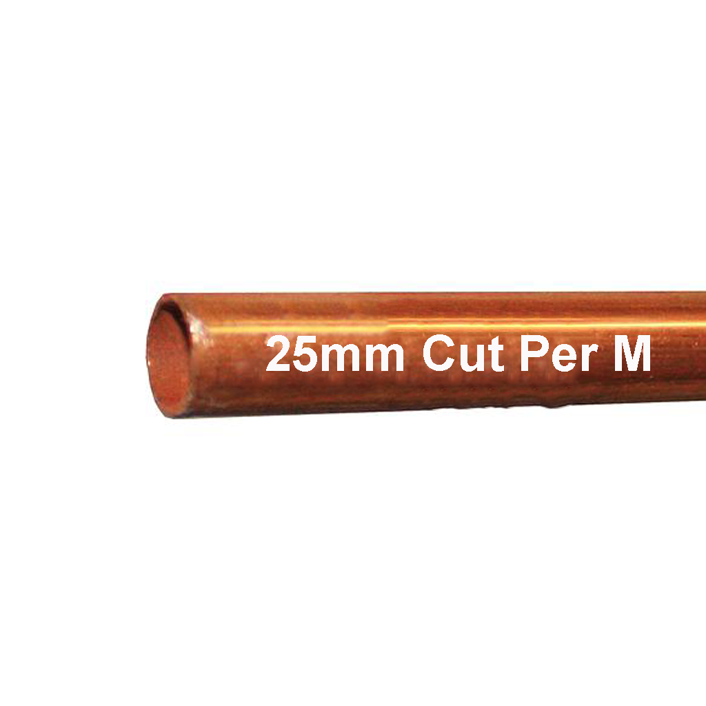 Copper Tube 25mm Per M