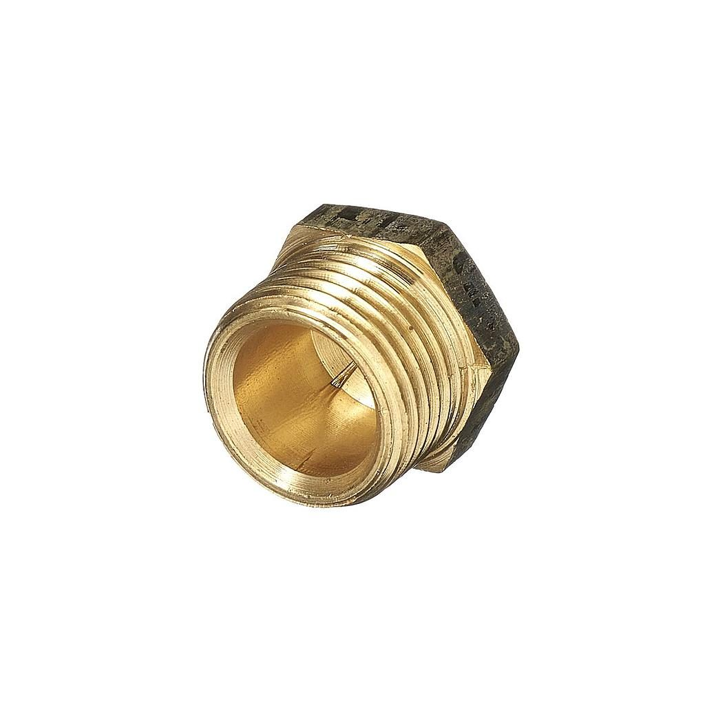 Brass Plug 15mm