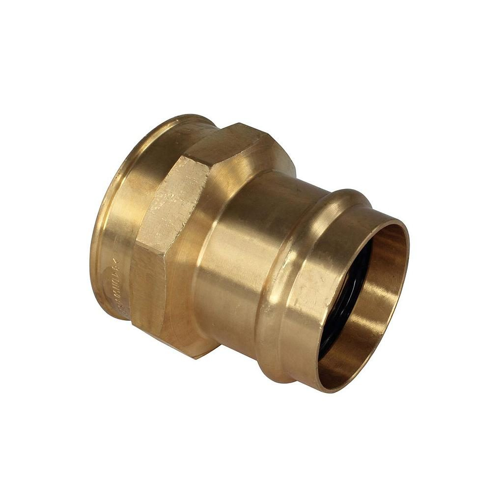 Brass Copper Adaptor 15mm C x 1/2Fi