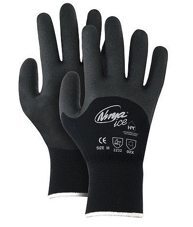 Rally General Purpose Gloves - Black Large