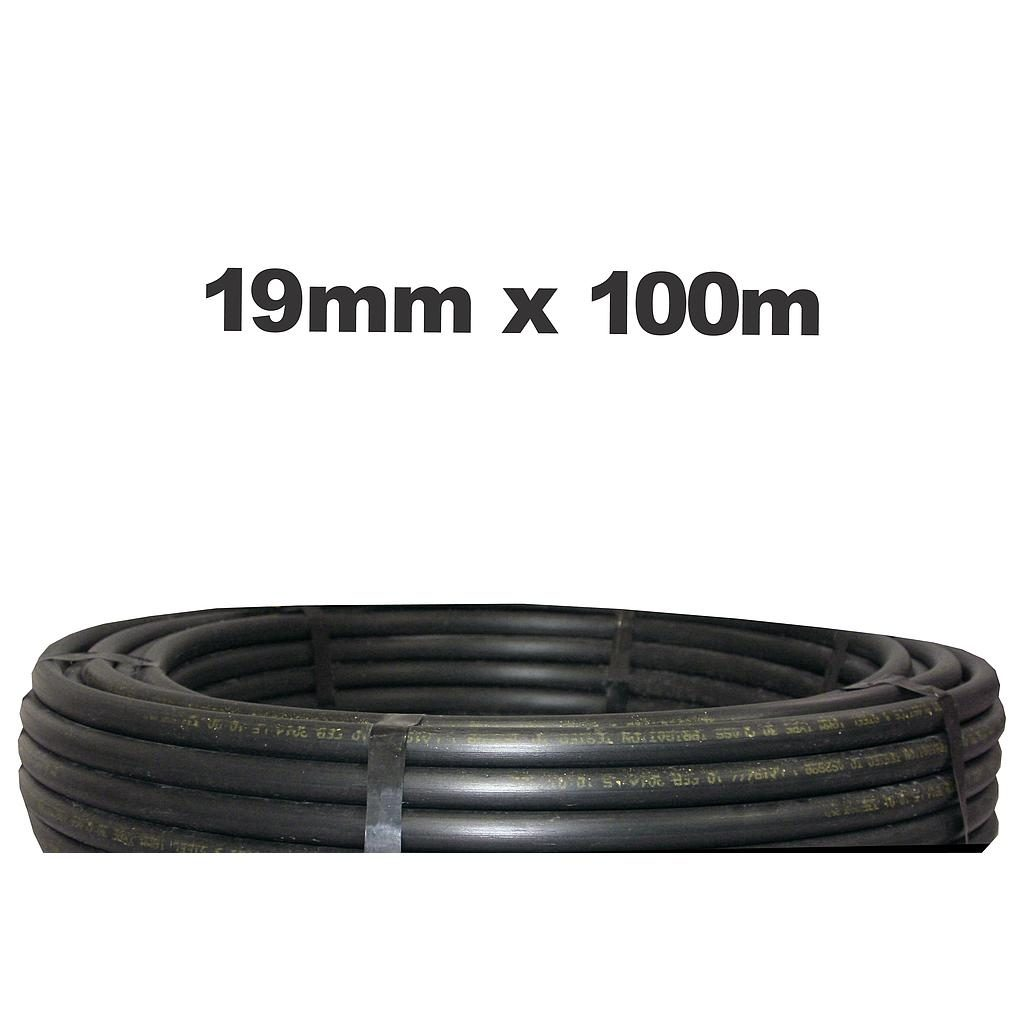 Poly Pipe 19mm x 100m LD
