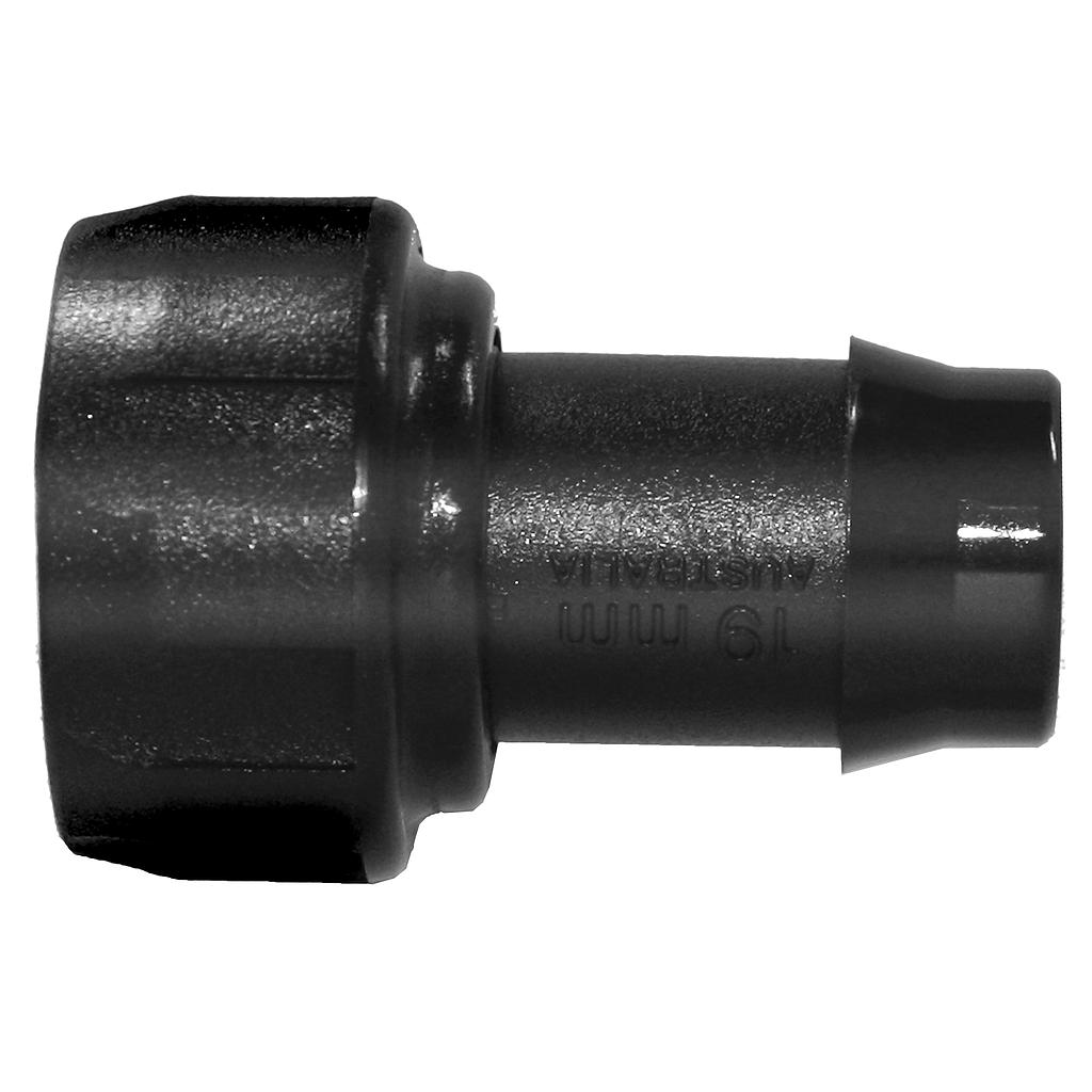 N3434 20mmFi x 19P Poly Nut & Tail