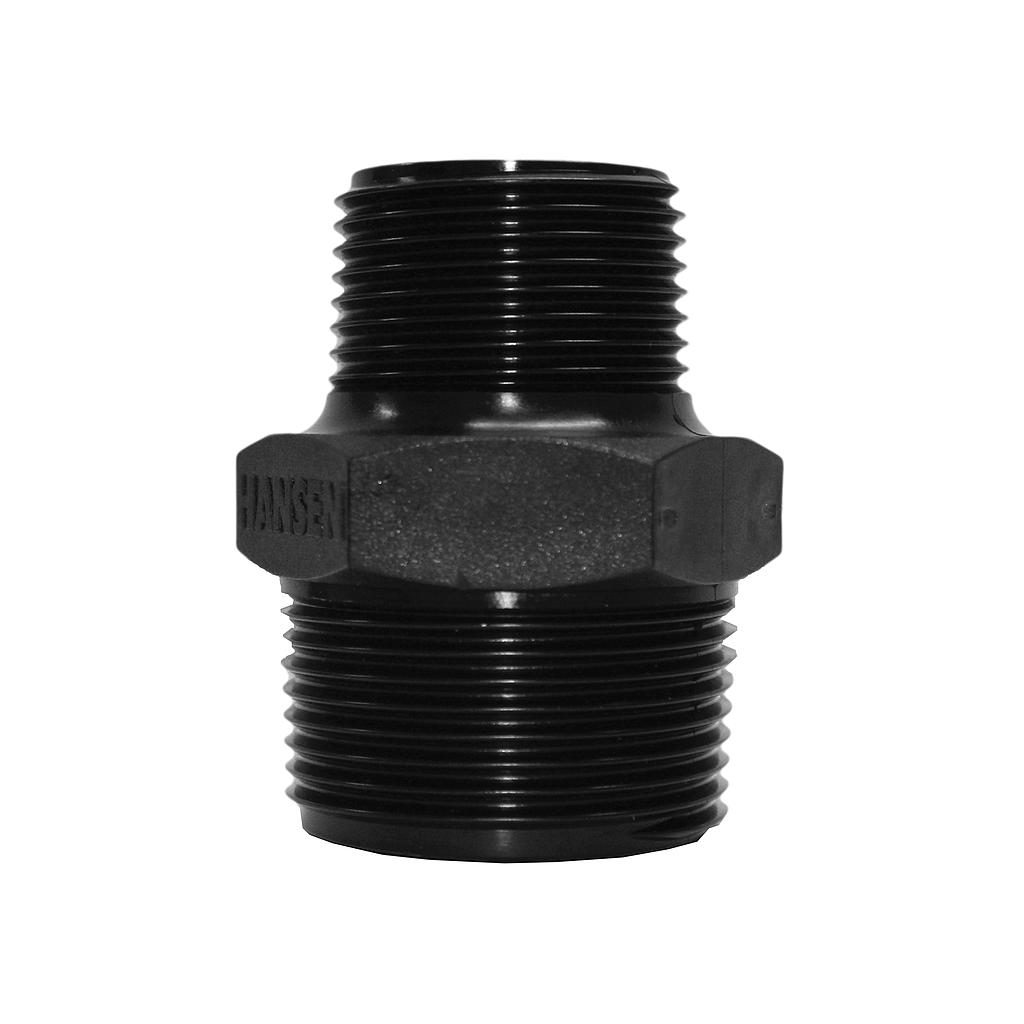 Poly Nipple Screwed 32mmx25mm
