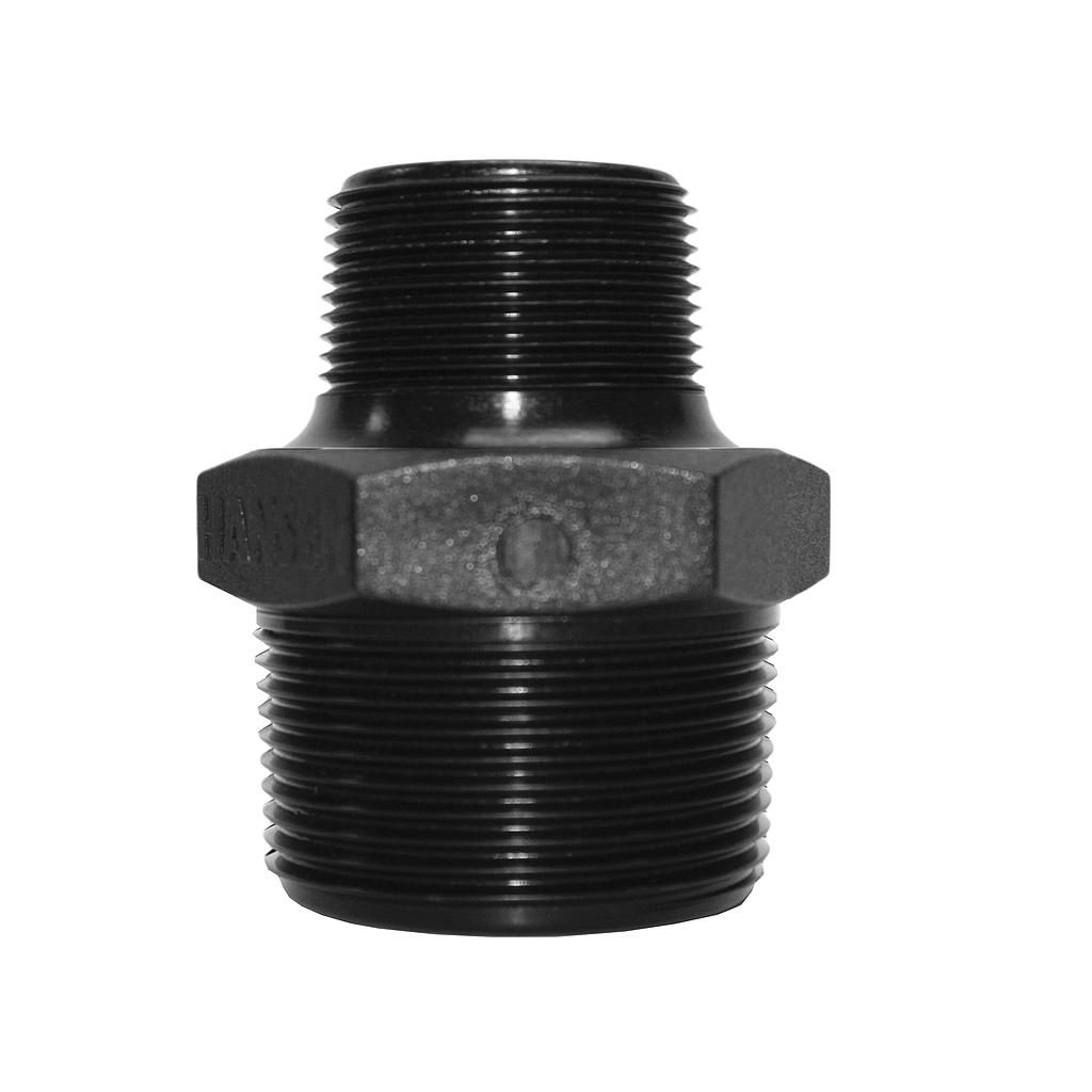 Poly Nipple Screwed 40mmx32mm