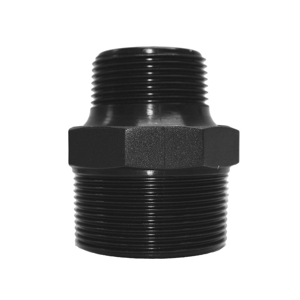 Poly Nipple Screwed 50mmx40mm