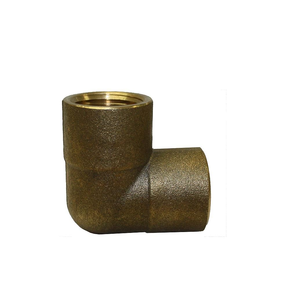 Brass Elbow F&F 15mm