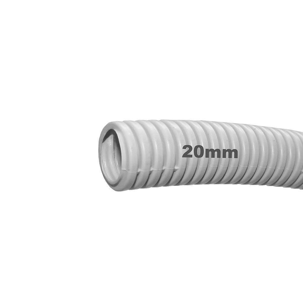 Conduit Grey Flexible 20mm Per Meter