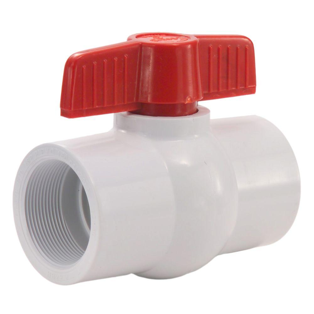 Ball Valve PVC Threaded 40mm