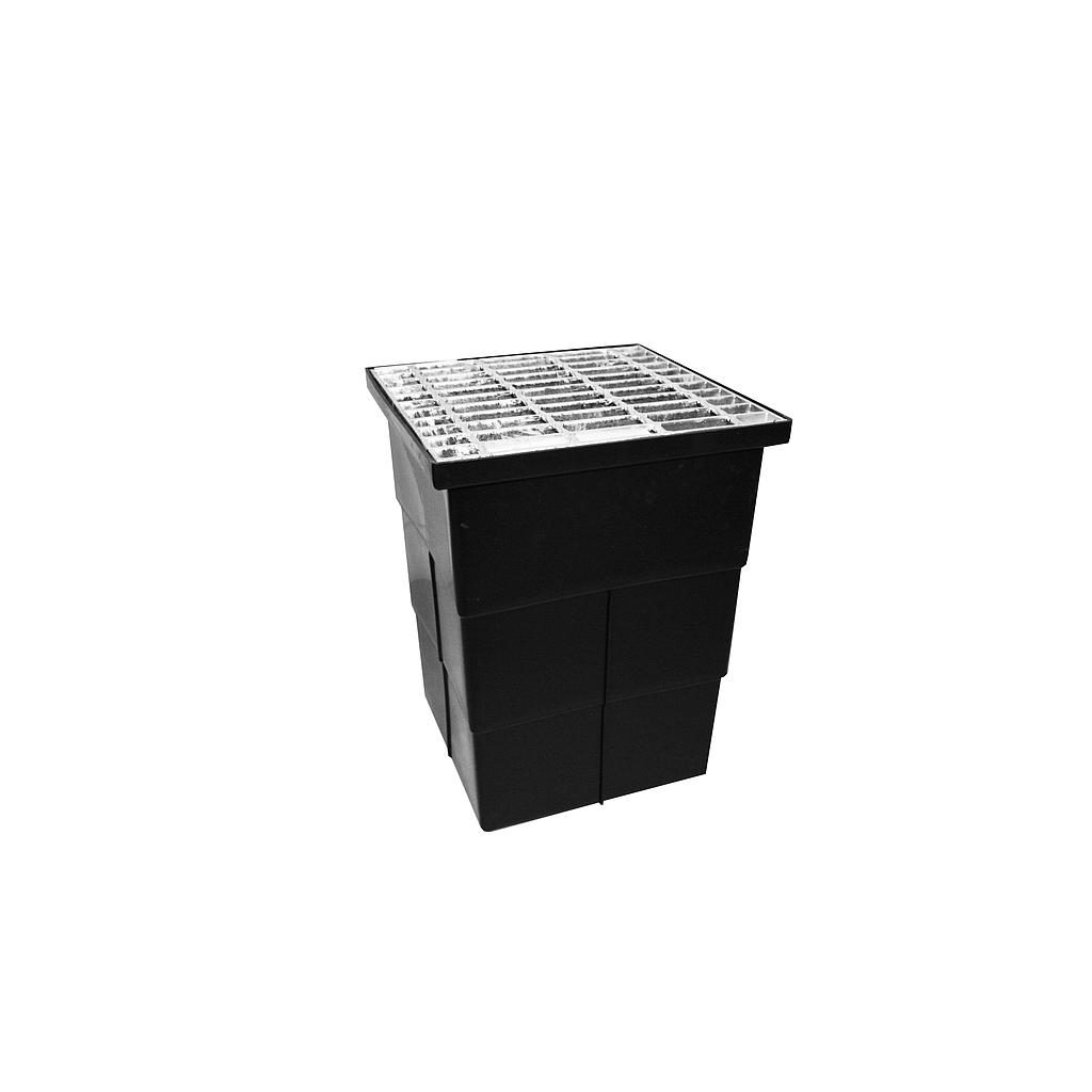 Poly Sump 300 x 300 x D450mm W/- LD Grate