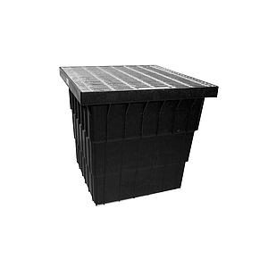 Poly Sump 600 x 600 x D600mm W/- LD Grate