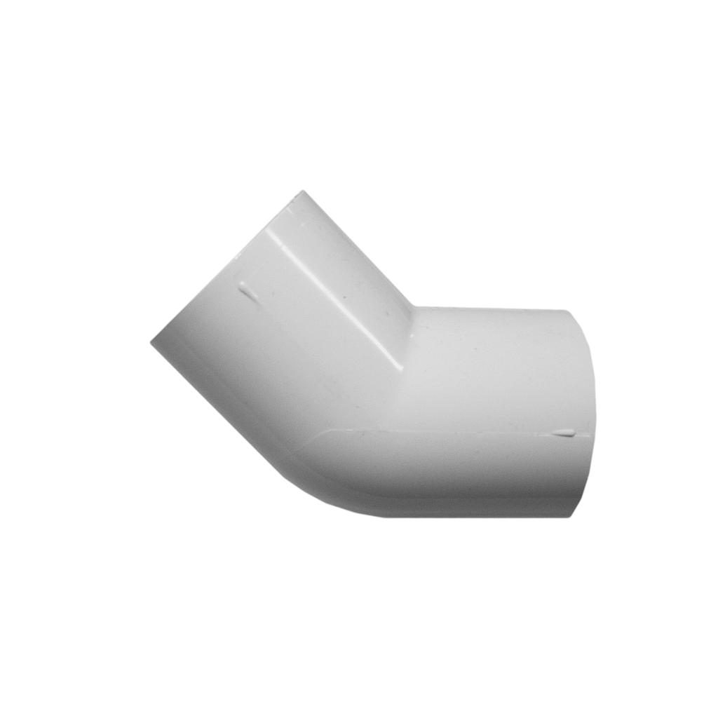 PVC Elbow 45D 80mm