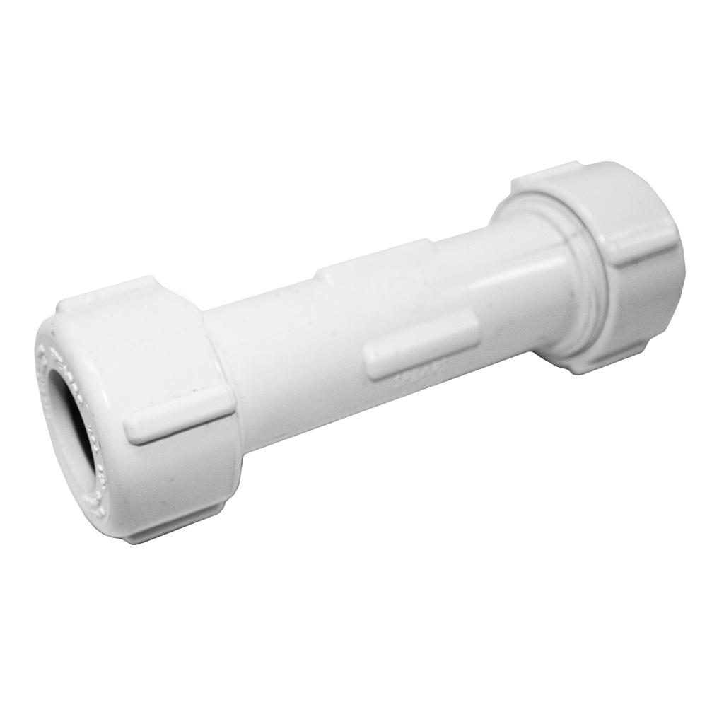 PVC Compression Coupling 15mm