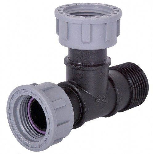 Manifold Tavlit 25MM Swivel Tee x M